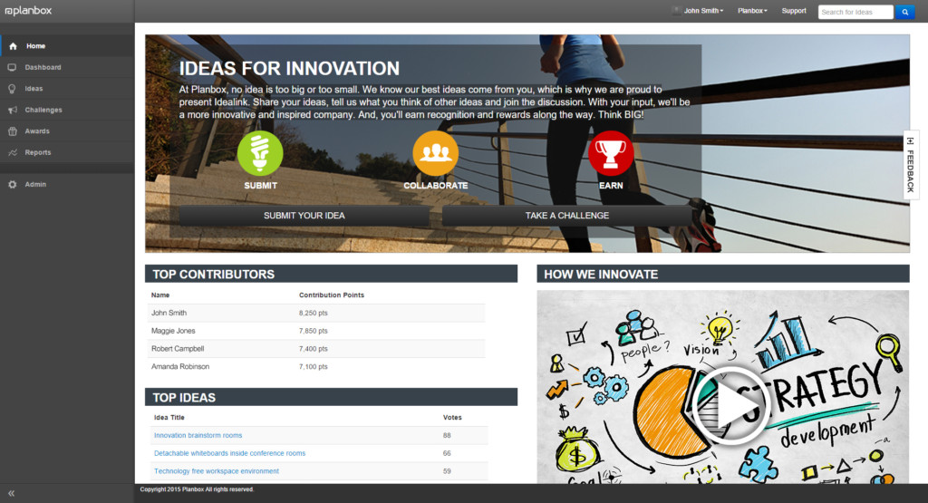 Innovation Management Software - Innovation Contests and Events