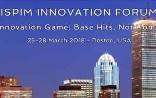 Planbox CEO to speak at ISPIM Innovation Forum in Boston on March 2018