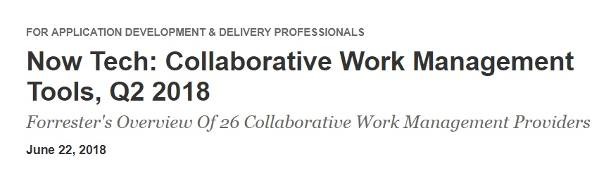 Collaborative Work Management Tools