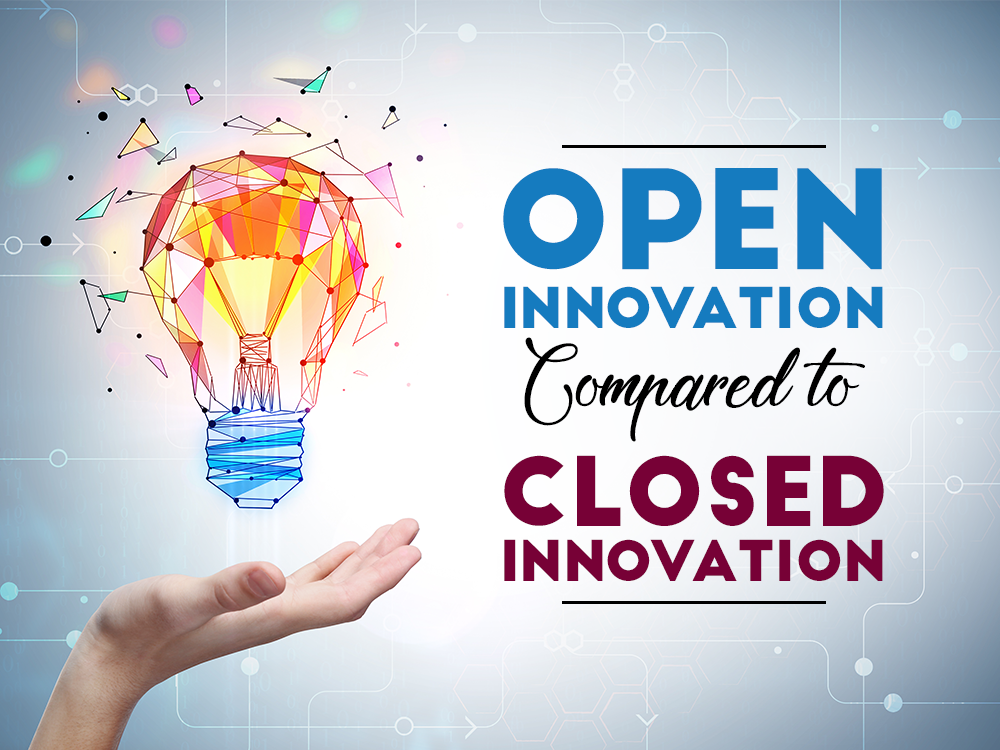 Open Innovation Compared to Closed Innovation Planbox
