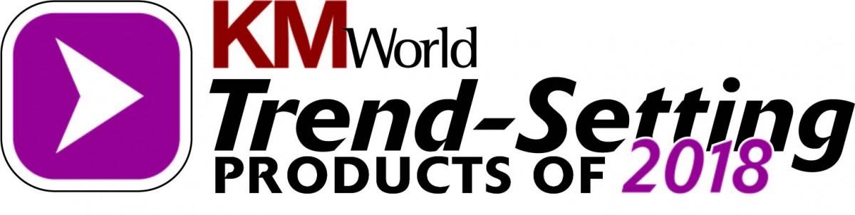 KMWorld Trend-Setting Product