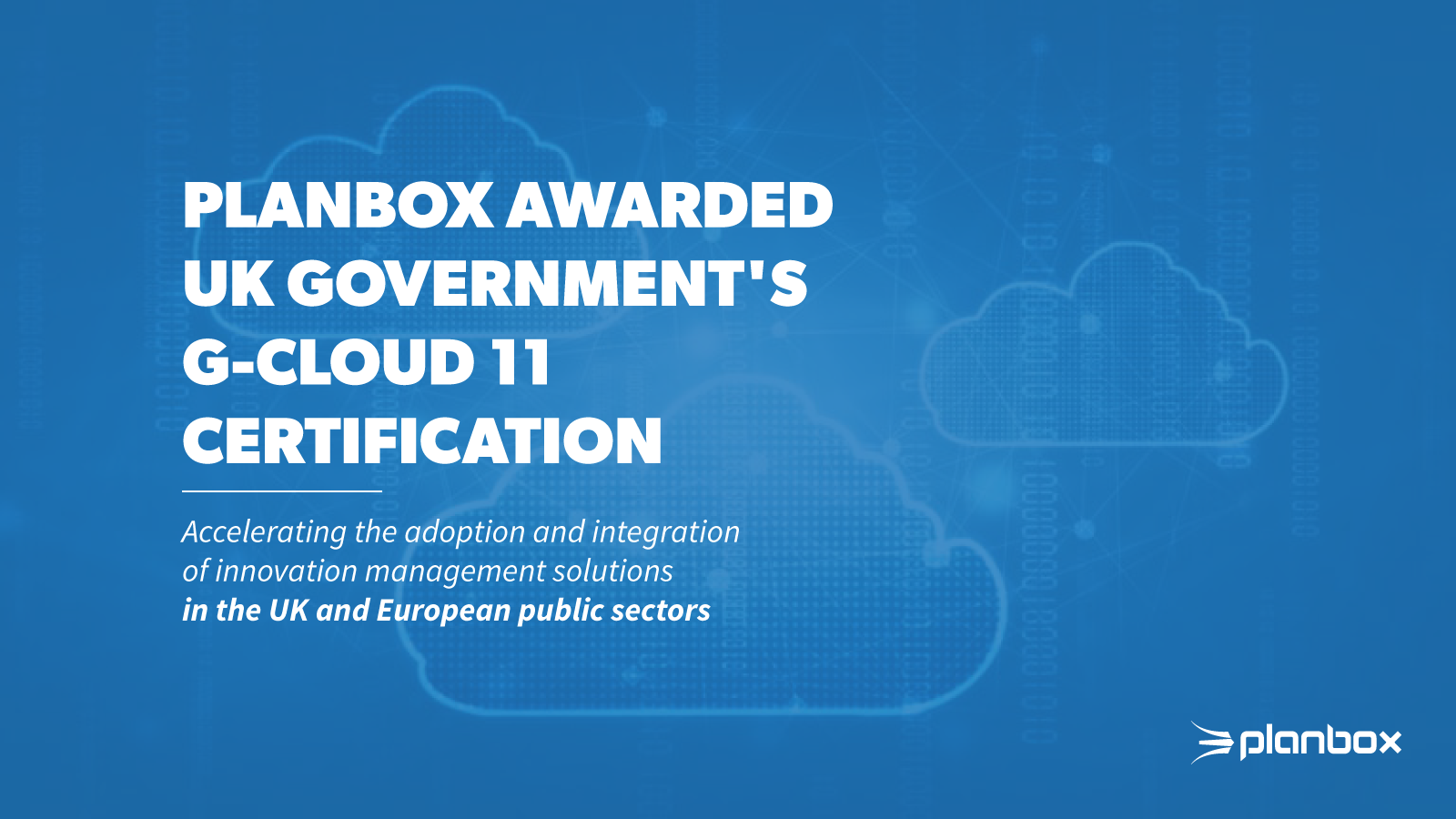 G-Cloud 11 Certification
