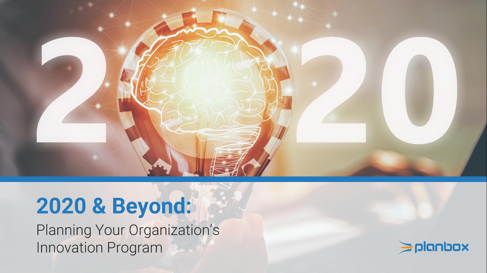 2020 innovation program