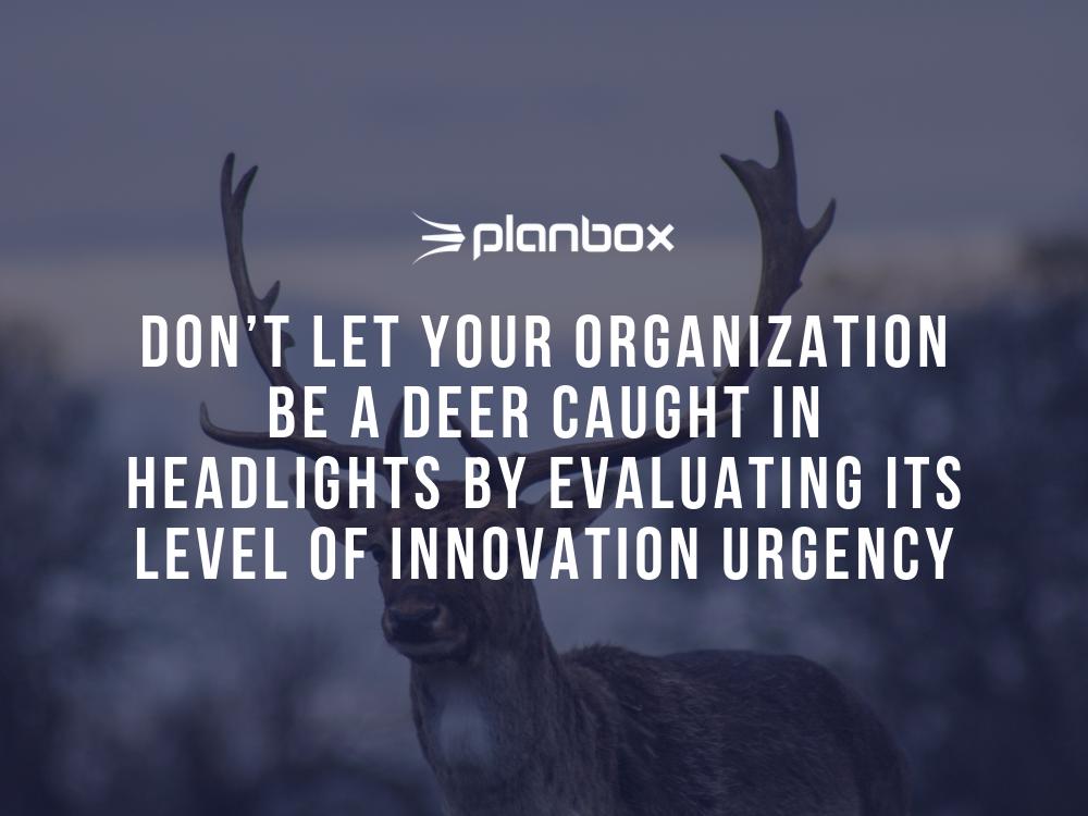 Innovation urgency