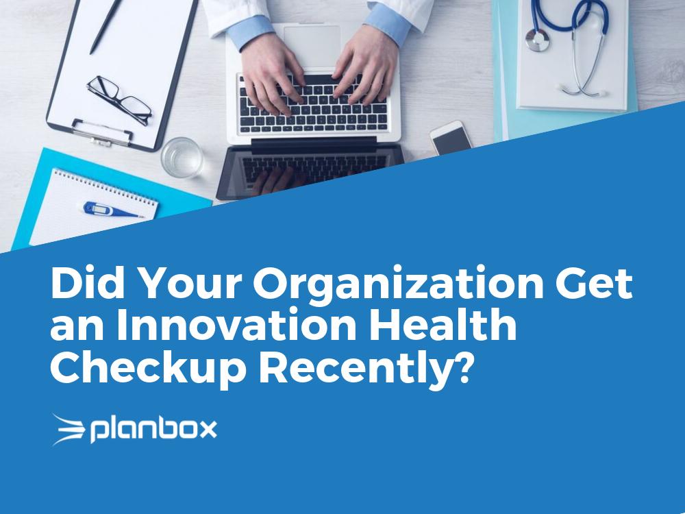 innovation health checkup